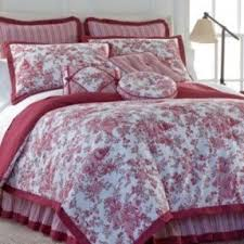 French Toile Bedding Toile Quilt Set Foter