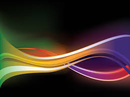 powerpoint design colors waves in colors reflect powerpoint templates abstract black