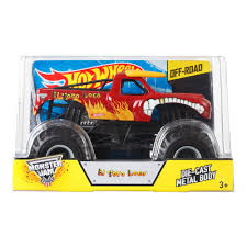 toy monster jam trucks for sale wheels monster jam 1 24 el toro loco die cast vehicle
