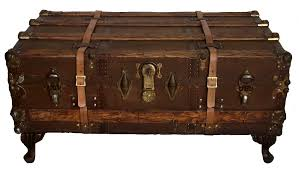 trunk coffee table diy antique vintage steamer trunk coffee table home decor ideas
