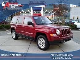 red jeep patriot cars for sale at auction direct usa