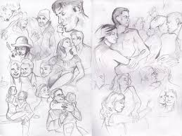 pencil sketches by kaywinnit on deviantart