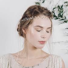 wedding headband silver gold or gold wedding headband india by debbie