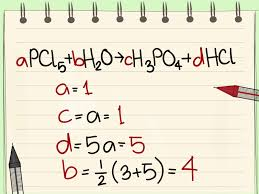 how to balance chemical equations 10 steps with pictures