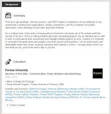 Resume Activities Section Linkedin Boot Camp Challenge 3 U2013 Resemble A Resume U2013 Purdue Cco Blog