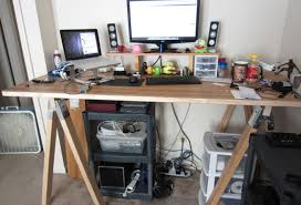 Diy Door Desk Design Ideas Door Standing Desk 8 Inexpensive Diy Standing