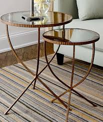 crate and barrel nesting tables round up nesting tables apartment therapy