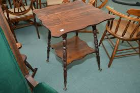 claw foot table with glass balls in the claw antique canadiana two tier l table with cast and glass ball and