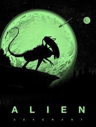 glow in the dark poster alien covenant glow in the dark poster barry blankenship