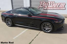 Black 2015 Mustang 2015 17 Mustang Products From Big Worm Graphix