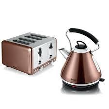 Black Kettle Toaster Set 4 Slice Toaster Kettle Set U2013 Cloud Trader