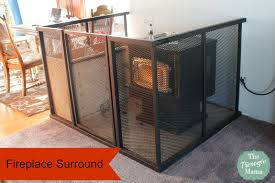 Fireplace Child Safety Gate by Wood Stoves Wood Stove Safety Gate And Ba Gate To Go Around