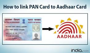 how to link pan card with aadhaar card on income tax department e