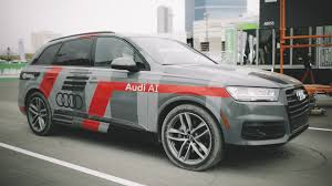car ads 2017 take a ride with us in a self driving audi q7 using nvidia