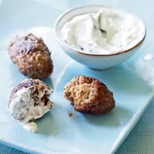 kibbeh meatballs with spiced yogurt sauce recipe myrecipes