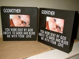 Godmother Gifts To Baby Personalized Godmother Godfather Godparent Gift Godparent Picture