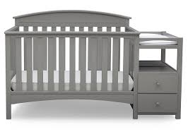 Grey Convertible Crib by Amazon Com Delta Children Abby Convertible Crib U0027n U0027 Changer