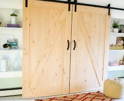 How To Install Barn Door Hardware Our Diy Sliding Barn Doors Tutorial Four Generations One Roof