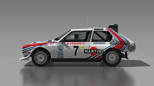 martini livery dirt rally lancia delta s4 martini toivonen