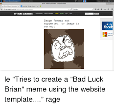 Bad Luck Meme Generator - error l meme generator software update 205329 error i meme
