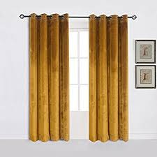 Blackout Yellow Curtains Amazon Com Half Price Drapes Boch 201303 96 Blackout Curtain