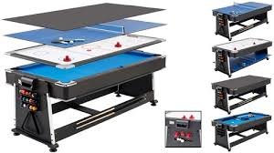 Ping Pong Pool Table New 3 In 1 Pool Air Hockey Ping Pong Table