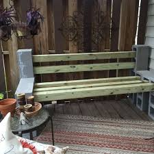 Bench Outdoor Furniture Needed A Garden Bench Hometalk
