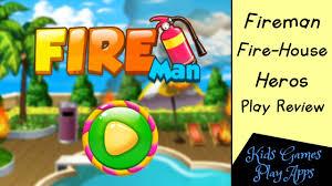 fire training academy fireman fire house heros cool app game
