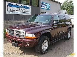 Dodge Durango Truck - 2003 dodge durango slt 4x4 in deep molten red pearlcoat 629916