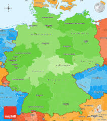 Dortmund Germany Map by Political Shades Simple Map Of Germany