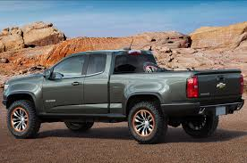 lifted white gmc 2015 chevrolet colorado adds box delete seat delete options