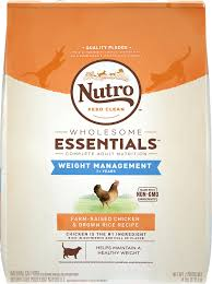 nutro wholesome essentials weight management farm raised