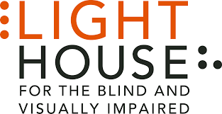 holden outerwear logo lighthouse for the blind and visually impaired northern