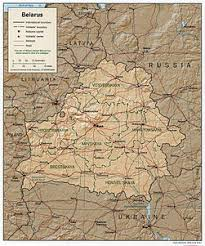 map of belarus atlas of belarus wikimedia commons