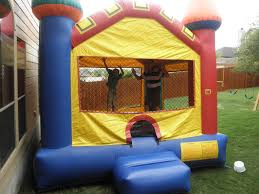 how do you move a 500lb bouncy castle