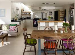 open plan kitchen family room ideas open up with space enhancing ideas for kitchen extensions the