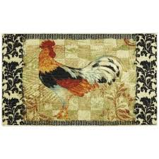 chicken area rugs rooster kitchen rugs glorema small home remodel