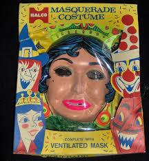 80s Kids Halloween Costumes 355 Plastic Masks Images Masks Vintage