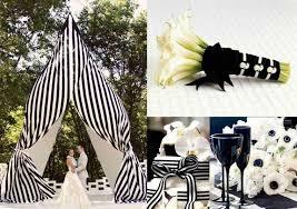 decoration mariage noir et blanc noir et blanc un mariage toujours élégant en 60 idées