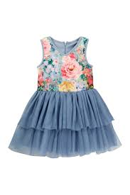 pippa u0026 julie fancy floral tutu dress toddler u0026 little girls