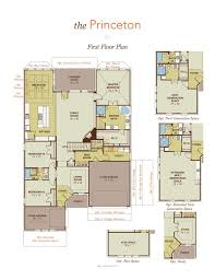 floor plans princeton princeton home plan by gehan homes in westwood home tour pinterest