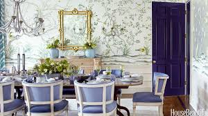 Color Of The Year Radiant Orchid Pantone  Color Of The Year - House beautiful dining rooms