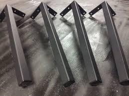 Flat Bar Table Legs Pinterest U0027teki 25 U0027den Fazla En Iyi Iron Table Legs Fikri Kaynak