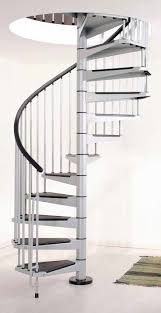 Spiral Stair Handrail Safety Stair Handrail Ideas Home Design Staircase Height Image