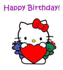 hello kitty birthday graphics and comments