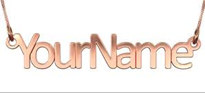 make your own name necklace name jewelry namefully name necklaces more