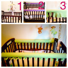 diy crib rail saver no more gnawing on paint or leaving marks on