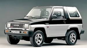daihatsu rocky daihatsu feroza resin top u00271989 u201394 youtube