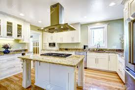 Granite Top Kitchen Islands by Modern And Practical Kitchen Room Design White Cabinet With