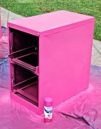 Pink Filing Cabinet My Openhouse Welcome Back Banner And My Diy Chalkboard Painted
